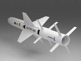 AV-TM 300 Cruise Missile 3d preview