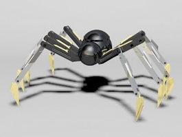 Robot Spider 3d preview