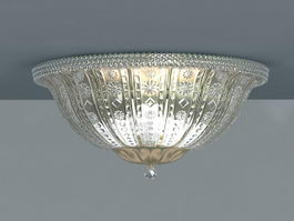 Crystal Ceiling Light 3d model preview
