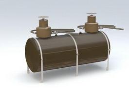 Fuel Storage Tank 3d preview