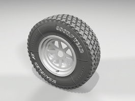 Goodyear Wheel 3d preview