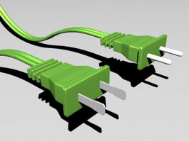 Electrical Plugs 3d preview