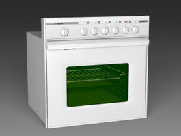 Built in Oven 3d preview