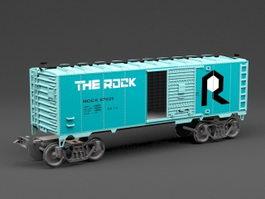 Train Wagon 3d preview