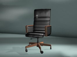 Swivel Armchair 3d preview