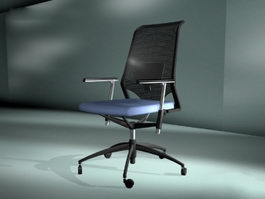 Mesh Revolving Chair 3d preview