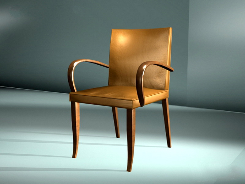 Vintage Accent Chair 3d rendering