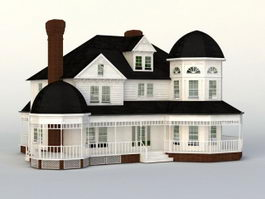 Victorian House 3d preview
