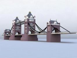 London Tower Bridge 3d preview