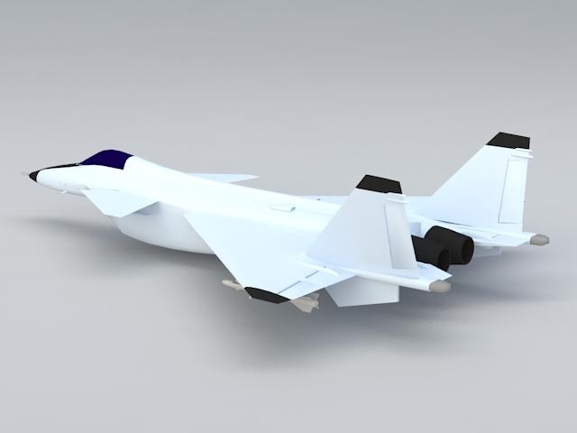 MiG Project 1.44 3d rendering