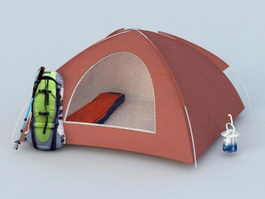 Camping Tent 3d preview