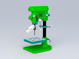 Benchtop Drill 3d preview
