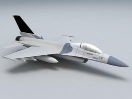F-16 Fighting Falcon 3d preview