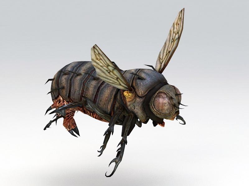 Blowfly Rig 3d rendering