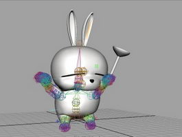 Mashimaro Rig & Animated 3d preview