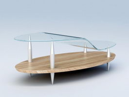 Modern Coffee Table 3d preview