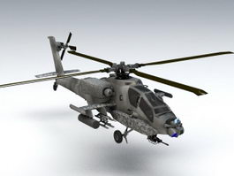 AH-64 Apache 3d preview