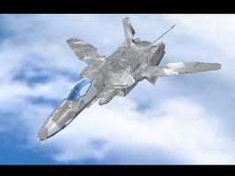 VF-0 Phoenix Variable Fighter 3d model preview