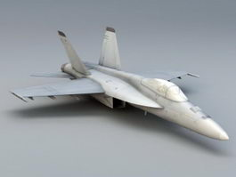 FA-18E Super Hornet 3d preview