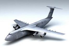 C-5 Galaxy Transport Aircraft 3d preview