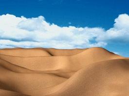 Desert Landscape 3d preview