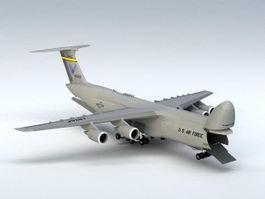 C-5M Galaxy Aircraft 3d preview