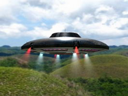 Flying Saucer 3d preview