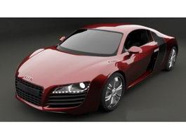 Audi R8 Sports Car 3d preview