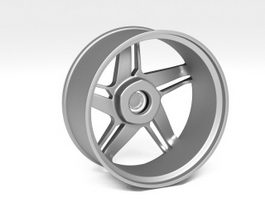 Alloy Wheel 3d preview