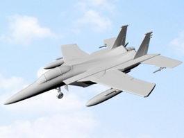 Fighter Jet 3d model preview