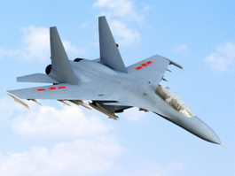 Shenyang J-11 Air Superiority Fighter 3d model preview