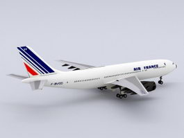 Air France Airbus 3d preview