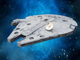 Millennium Falcon 3d preview