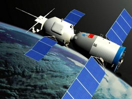 Shenzhou Spacecraft 3d model preview
