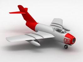 Chengdu J-8 Fighter 3d model preview