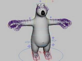 Backkom Bear Rig 3d preview