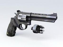 44 Magnum Revolver 3d preview