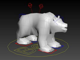 Bear Rig 3d preview