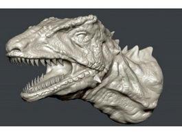 Dinosaur Head 3d preview