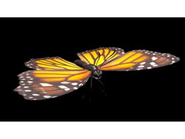 Monarch Butterfly 3d preview