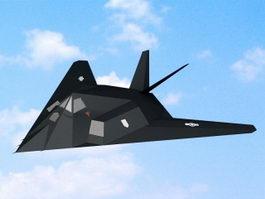 F-117 Nighthawk 3d preview