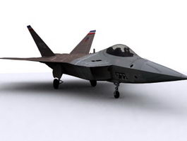 F-22 Raptor 3d preview