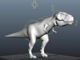 T-Rex Rig 3d model preview