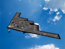 B2 Bomber 3d model preview