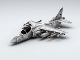 Fighter Plane 3d model preview