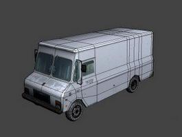 Freightliner Box Van 3d preview