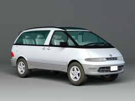 Toyota Estima Lucida 3d preview