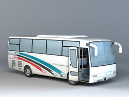 Coach Bus 3d preview