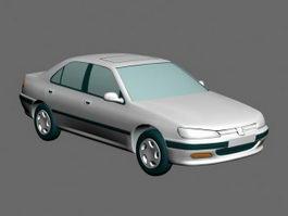 Peugeot Sedan 3d preview