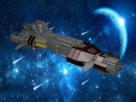 Thunderchild Spaceship 3d preview